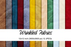 Wrinkled Fabrics digital papers Product Image 1