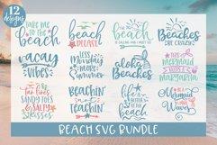 Beach SVG Bundle - 12 Summer SVG Cut Files Product Image 1
