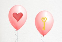 Hand drawn valentines clipart bundle Product Image 2