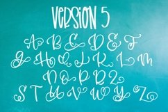 Monogram Bundle - FIVE Styles Including a Split Monogram! Product Image 5