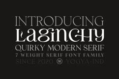 Laginchy - Quirky Serif Product Image 4