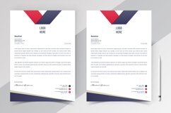 Modern Letterhead Pad Template Product Image 3