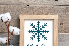Winter SVG Bundle | Snowflake Svg | Winter Sign SVG Product Image 6