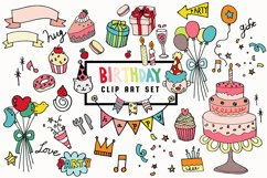 Doodled Illustration 03 Birthday Product Image 1