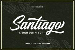Web Font Santiago Product Image 1