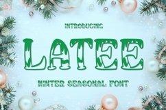 Web Font Latee Font Product Image 1