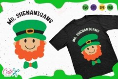 Mister Shenanigans svg, St. Patrick day Files for crafters Product Image 1