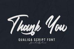 Qualiga - Script Font Product Image 3