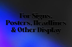 Resnick - Display Font Product Image 12