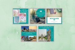 Instagram Post Template- Travel Blogger Product Image 5