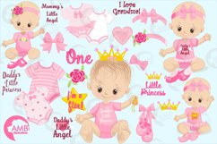 Daddy's little princess clipart, graphics, illustrations AMB-1293 Product Image 6