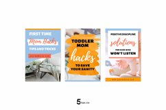 High- Converting Blogger Pinterest Pin Pack | Canva Product Image 3
