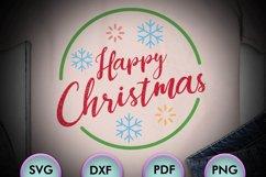 Merry Christmas Logo, Xmas, happy christmas, SVG Design Product Image 1