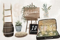 Wedding map creator watercolor Product Image 13
