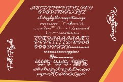 Knightorns - Handwritten Font Product Image 5