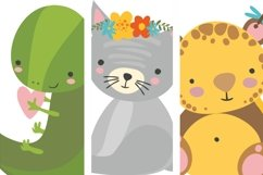 Alphabet animals. Kids alphabet. Baby animals. Letters png Product Image 4