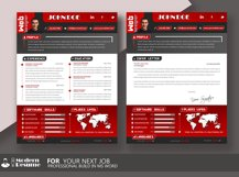 Resume Template / CV Template Cover Letter Product Image 4
