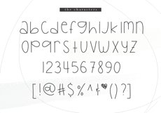 Bright Lights - A Cute Handwritten Font Product Image 5