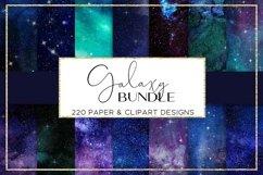 Galaxy paper BUNDLE digital paper pattern Product Image 4