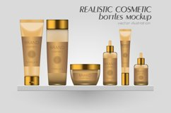 Vector realistic bottles set collection mockup pt.3 Product Image 1