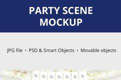 Party Scene creator Mockup, Party Decoration Mockup, 1090 Product Image 5