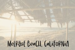 California Sunrise - A Handwritten Font with Alternatives! Product Image 6