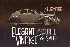 Billionaire - Display Font Product Image 4