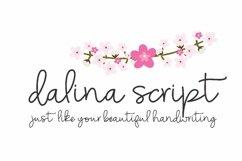 Dalina Script Product Image 1