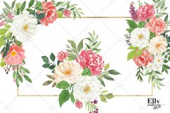 Watercolor Flowers clipart - Shantal Product Image 3