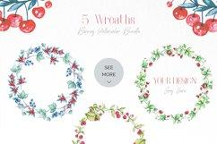 Berries Watercolor Bundle Product Image 2