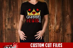 Queen of Hearts Valentine SVG Product Image 2