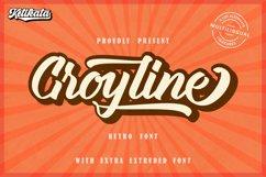 Groyline Retro font Product Image 1