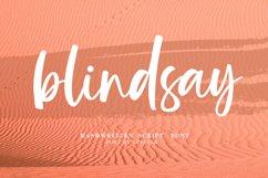 Blindsay - Handwritten Script Font Product Image 1