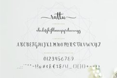 rattu handletter font Product Image 6