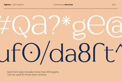 Signore - Serif Typeface Product Image 14