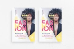 Fashion Show Flyer Template Product Image 1