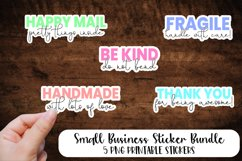 Ultimate Handmade Business Sticker Bundle Product Image 3