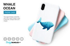 Whale Ocean Vector Illustrations Product Image 3