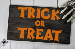 Haunted Halloween - A Spooky Hand-Lettered Font Product Image 4