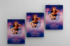 Summer Ibiza Party A4 Flyer PSD Template Product Image 3