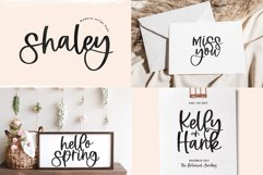 Spring Font Bundle - Fonts for Crafters Product Image 5