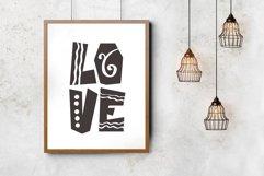 Castillo Scandinavian Font & Pattern Product Image 2