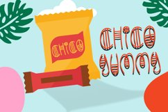Happy Summer - Decorative Display Font Product Image 4