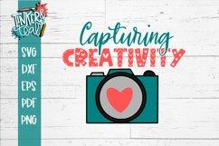 Camera SVG / Capturing Creativity SVG / Crafting SVG Product Image 2