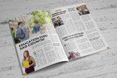 Education Magazine Brochure v1 Product Image 6