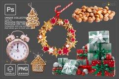 Christmas overlay & Glitter overlays, Photoshop overlay Product Image 3
