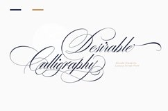 Desirable calligraphy Product Image 1