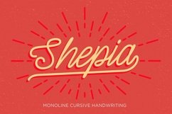 Shepia Script Product Image 1