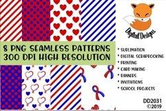 Congenital Heart Defect Awareness Digital Paper Pack Product Image 1