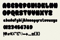 Bulb Layered Font Product Image 5